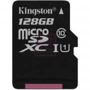Kingston - Carte mémoire flash - 128 Go - UHS Class 1 / Class10 - microSDXC UHS-I