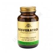 Resveratrol 100 mg. Solgar 60 c