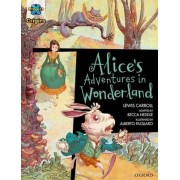 Project X Origins Graphic Texts: Dark Red Book Band, Oxford Level 18: Alices Adventures in Wonderland by Lewis Carroll