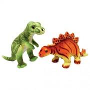 Small Foot Company 5645 - Ronny & Conny Dinosauri, Set da 2