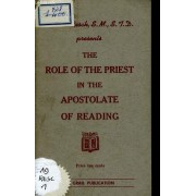 The Role Of The Priest In The Apostolat Of Reading