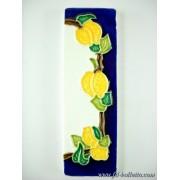 Numero civico ceramica con limoni nlp15