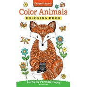 Color Animals Coloring Book by Jess Volinski