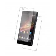 Folie Sticla Sony Xperia Z Fata + Spate Tempered Glass Ecran Display LCD