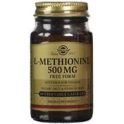 Solgar 500 mg L-Methionine Vegetable Capsules - Pack of 30