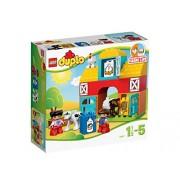 LEGO DUPLO Mes Premiers Pas - 10617 - Jeu De Construction - Ma Première Ferme