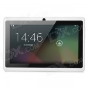 """7"""" Capacitive Touch Screen Android 4.4 Tablet PC w/ TF / Camera / Wi-Fi / G-Sensor - White"""