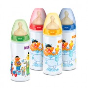 BIBERON FIRST CHOICE BARRIO SESAMO 6-18 M 300ml Azul
