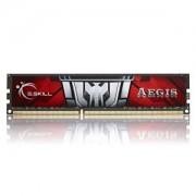 Memorie G.Skill Aegis 8GB DDR3 1600MHz PC3-12800 CL11 1.5V, F3-1600C11S-8GIS