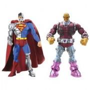 DC Universe Super Enemies Figure Pack-Cyborg Superman / Mongul Figures 2-Pack