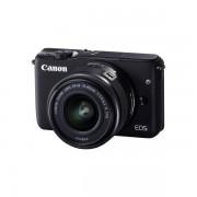 Aparat foto Mirrorless Canon EOS M10 18 Mpx Black Kit EF-M 15-45mm IS