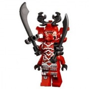 Lego Ninjago General Kozu Mini Figure Only from Set 70504 Garmatron