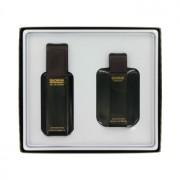 Antonio Puig Quorum 3.3 oz / 97.59 mL Eau De Toilette Spray + 3.3 oz / 97.59 mL After Shave Gift Set Men's Fragrance 435169
