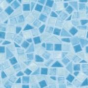 Autocolant mozaic albastru