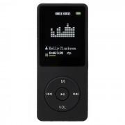 """""""1.8"""""""" LCD digital MP3? MP4 y reproductor de video FM de radio de musica - negro (8 GB)"""""""