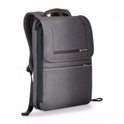 Briggs & Riley Kinzie Street Flapover Expandable Backpack - Grey
