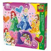 "SES Creative 14733 - Set di perline per comporre figure, serie ""Principesse Disney"""