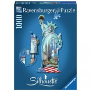 Ravensburger Puzzles Statue of Liberty, Multi Color (1000 Pieces)