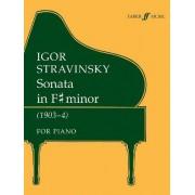 Sonata in F-Sharp Minor (Piano Solo) by Igor Stravinsky