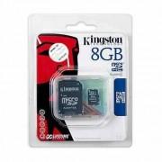 Kingston MicroSD memóriakártya 8GB Class 4