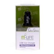 ALIMENTATOR AUTO USB 3.1A M-LIFE ML0003