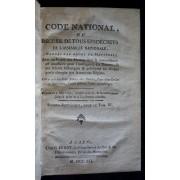 Code National Ou Recueil De Tous Les Décrets De L'assemblée Nationale, Rangés Par Ordre De Matières (Impôts)