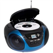 SOM PORTÁTIL CD PLAYER AM/FM AUX DAZZ