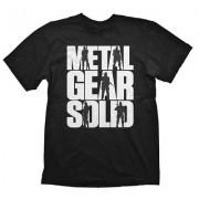 Metal Gear Solid T-Shirt Logo, Size M