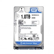 """HDD 2.5"""", 1000GB, WD Scorpio Blue, 5400rpm, 8MB Cache, 9.5mm, SATA3 (WD10JPVX)"""
