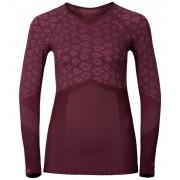 Odlo Blackcomb Evolution Warm Shirt L/S Crew Neck Women zinfandel-sangria XS Langarm Shirts