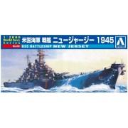 AOSHIMA 009338 1/2000 USS New Jersey Battleship