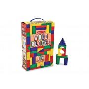 100 Wooden Blocks Set by Melissa & Doug