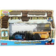 Thomas & Friends Take-n-Play REG'S CHRISTMAS SURPRISE Exclusive Play Set with Scrap Metal Christmas Tree by Fisher-Price