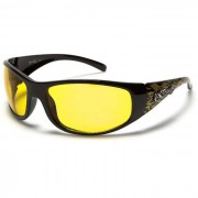 Choppers zonnebril Black Yellow Flames CH71