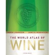The World Atlas of Wine Johnson Hugh Robinson Jancis atlas win świata