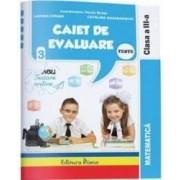 Matematica. Clasa a 3-a. Caiet de evaluare - Vasile Molan