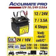 AccuMate PRO2 12/24V 7/3A SAE