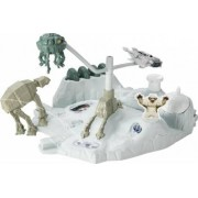 Set De Joaca Mattel Hot Wheels Star Wars Hoth Echo Base Battle