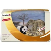 Schleich Scenery pack Wilde dieren Azië 41391