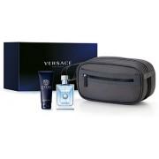 Versace - Pour Homme Eau de Toilette Set pentru barbati