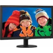 Monitor LED 24 Philips 243V5LSB Full HD 5ms Black