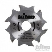 Triton Biscuit Jointer Blade 100mm - TBJC Replacement Blade 899068 5024763160295