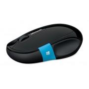 Mouse, Microsoft Bluetooth Sculpt Comfort, Black (H3S-00002)