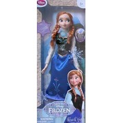 """Frozen Motion Activated Singing & Light Up Anna Doll 16"""" Doll Sings """"For The First Time"""" Disney Store Exclusive (2013)"""
