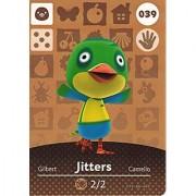 Animal Crossing Happy Home Designer Amiibo Card Jitters 039/100