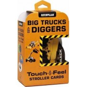 Big Trucks and Diggers Touch-and-Feel Stroller Cards by Caterpillar
