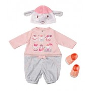 Zapf Creation 794623 - Baby Annabell Deluxe Set rosa casual elegante