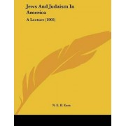 Jews and Judaism in America by N E B Ezra