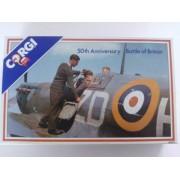 Corgi Battle Of Britain 50 Yrs Aniv 3pc RAF Airforce Set: BEDFORD COACH BUS, MORRIS VAN & FORD ZEPHYR in 1:43...