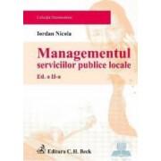 Managementul serviciilor publice locale ed.2 - Iordan Nicola